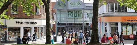 The Ridings Shopping Centre Wakefield